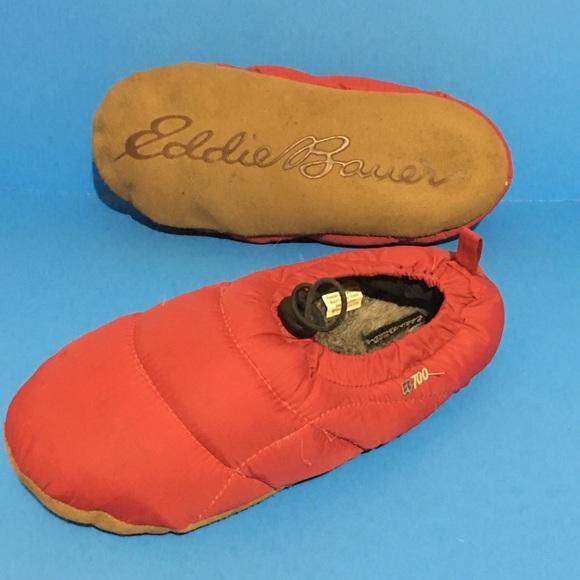 40563198147 Eddie Bauer Shoes - Eddie Bauer Goose Down Slippers